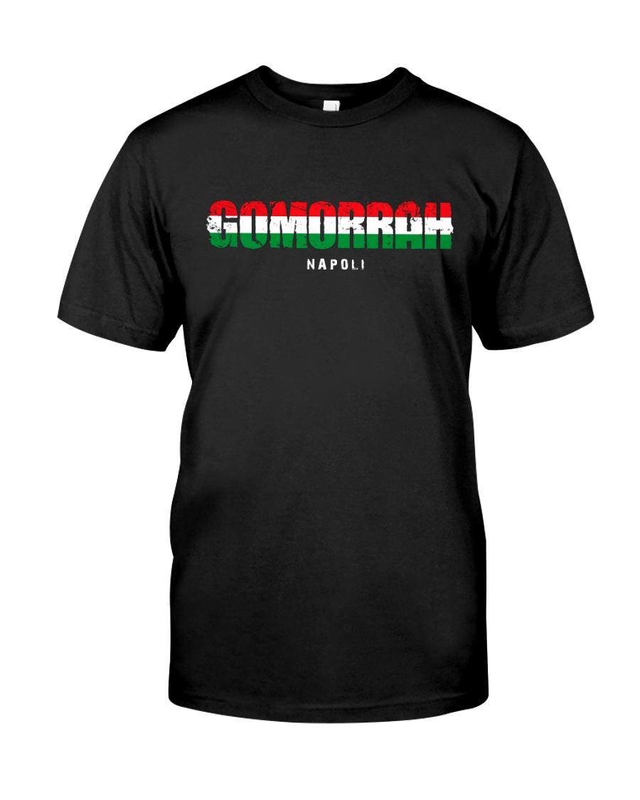 Gomorrah Italian Logo Classic T-Shirt