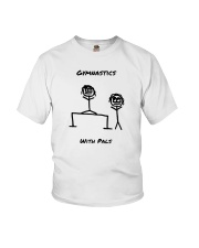 Gymnastics With Pals Youth T-Shirt thumbnail