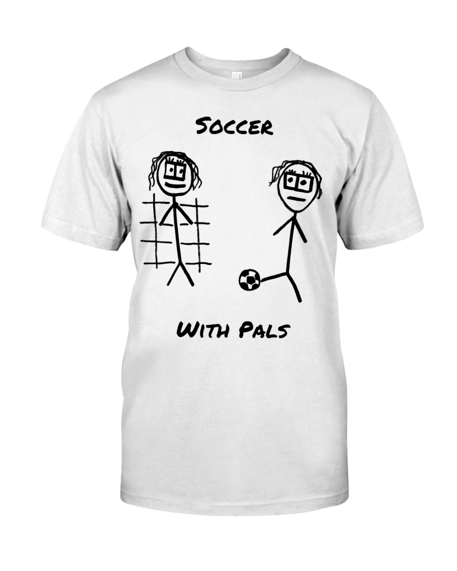 Soccer With Pals Premium Fit Mens Tee