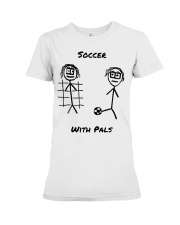 Soccer With Pals Premium Fit Ladies Tee thumbnail