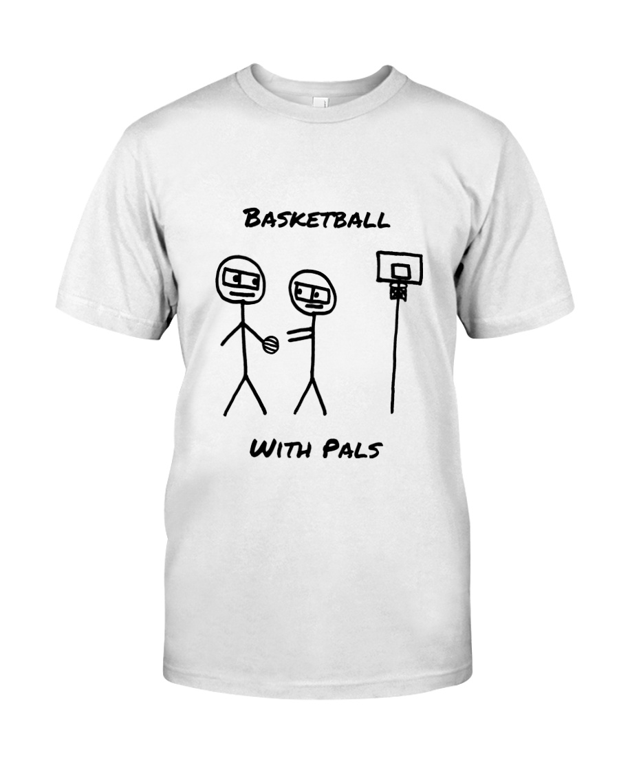 Basketball With Pals Premium Fit Mens Tee
