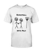 Basketball With Pals Premium Fit Mens Tee front