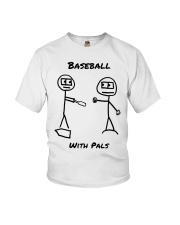 Baseball With Pals Youth T-Shirt thumbnail