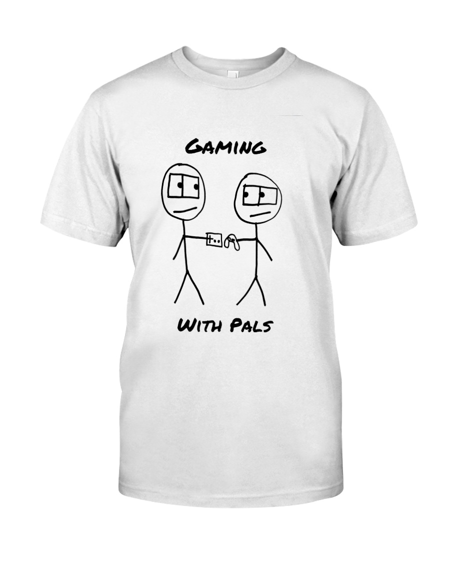Gaming With Pals Premium Fit Mens Tee
