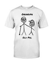 Grandpa Old Pal Premium Fit Mens Tee front