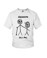 Grandpa Old Pal Youth T-Shirt thumbnail