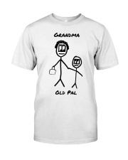 Grandma Old Pal Premium Fit Mens Tee front