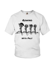 Rowing With Pals Youth T-Shirt thumbnail