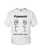 Forknife - Battle with Pals Youth T-Shirt thumbnail