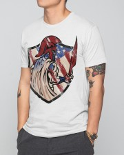 US Spartan shield Premium Fit Mens Tee apparel-premium-fit-men-tee-lifestyle-front-41