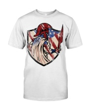 US Spartan shield Premium Fit Mens Tee front