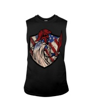 US Spartan shield Sleeveless Tee thumbnail
