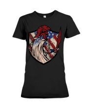 US Spartan shield Premium Fit Ladies Tee thumbnail