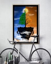Couple climbing a Cliff 16x24 Poster lifestyle-poster-7