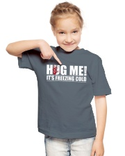 HUG ME Youth T-Shirt lifestyle-youth-tshirt-front-2