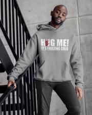 HUG ME Hooded Sweatshirt apparel-hooded-sweatshirt-lifestyle-front-10