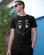 Facial Expression tee 9 Classic T-Shirt apparel-classic-tshirt-lifestyle-17