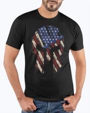 Patriotic Spartan helmet Premium Fit Mens Tee apparel-premium-fit-men-tee-lifestyle-front-19