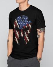 Patriotic Spartan helmet Premium Fit Mens Tee apparel-premium-fit-men-tee-lifestyle-front-41