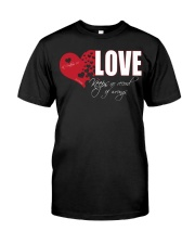 LOVE KEEPS NO RECORD Classic T-Shirt front