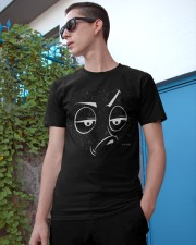 Facial Expression tee 1 Classic T-Shirt apparel-classic-tshirt-lifestyle-17