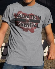 SALVATION IS ESSENTIAL  Classic T-Shirt apparel-classic-tshirt-lifestyle-28
