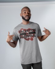 SALVATION IS ESSENTIAL  Classic T-Shirt apparel-classic-tshirt-lifestyle-front-32