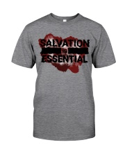 SALVATION IS ESSENTIAL  Classic T-Shirt front