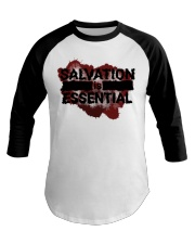 SALVATION IS ESSENTIAL  Baseball Tee thumbnail