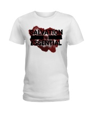 SALVATION IS ESSENTIAL  Ladies T-Shirt thumbnail