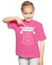 DIY PRINCESS Youth T-Shirt lifestyle-youth-tshirt-front-2