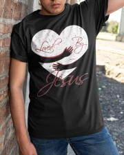 Loved By Jesus Classic T-Shirt apparel-classic-tshirt-lifestyle-27