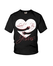 Loved By Jesus Youth T-Shirt thumbnail