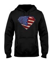 Super Patriot USA Hooded Sweatshirt thumbnail