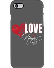LOVE NEVER FAILS Phone Case thumbnail