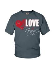 LOVE NEVER FAILS Youth T-Shirt thumbnail