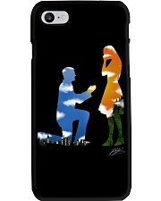 I proposed an she said YES Phone Case i-phone-8-case