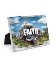 Faith to move Mountains 10x8 Easel-Back Gallery Wrapped Canvas thumbnail