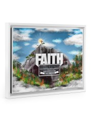 Faith to move Mountains 14x11 White Floating Framed Canvas Prints thumbnail