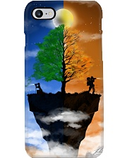 Camera Couple on a Cliff Phone Case tile
