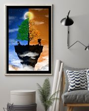 Camera Couple on a Cliff 16x24 Poster lifestyle-poster-1