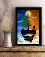 Camera Couple on a Cliff 16x24 Poster lifestyle-poster-3