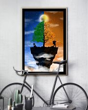 Camera Couple on a Cliff 16x24 Poster lifestyle-poster-7