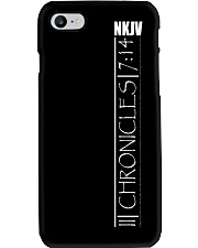 2nd Chronicles white text Phone Case thumbnail