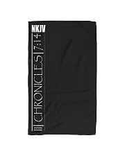 2nd Chronicles white text Hand Towel thumbnail