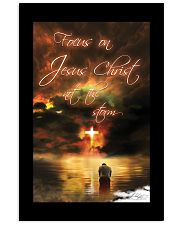 Focus On Jesus Christ 11x17 Poster front