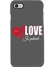 LOVE IS PATIENT Phone Case thumbnail