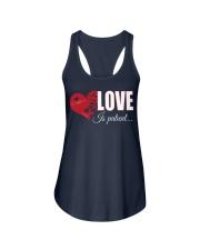 LOVE IS PATIENT Ladies Flowy Tank thumbnail