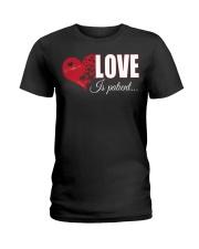 LOVE IS PATIENT Ladies T-Shirt thumbnail