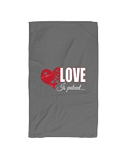 LOVE IS PATIENT Hand Towel thumbnail